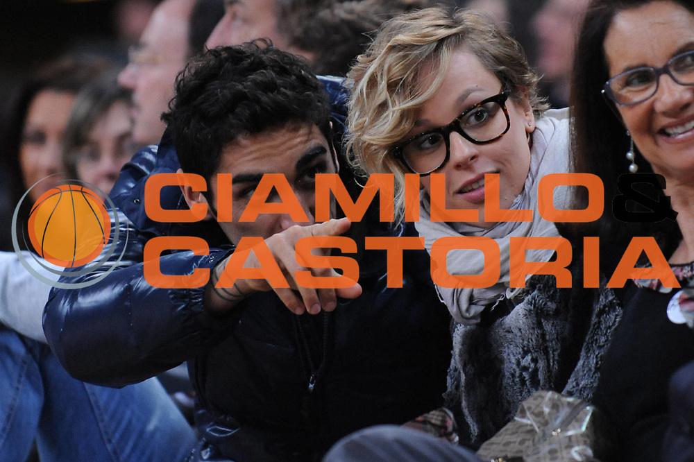 DESCRIZIONE : Pesaro Edison All Star Game 2012<br /> GIOCATORE : Filippo Magnini Federica Pellegrini VIP<br /> CATEGORIA : <br /> SQUADRA : <br /> EVENTO : All Star Game 2012<br /> GARA : Italia All Star Team<br /> DATA : 11/03/2012 <br /> SPORT : Pallacanestro<br /> AUTORE : Agenzia Ciamillo-Castoria/M.Marchi<br /> Galleria : FIP Nazionali 2012<br /> Fotonotizia : Pesaro Edison All Star Game 2012<br /> Predefinita :