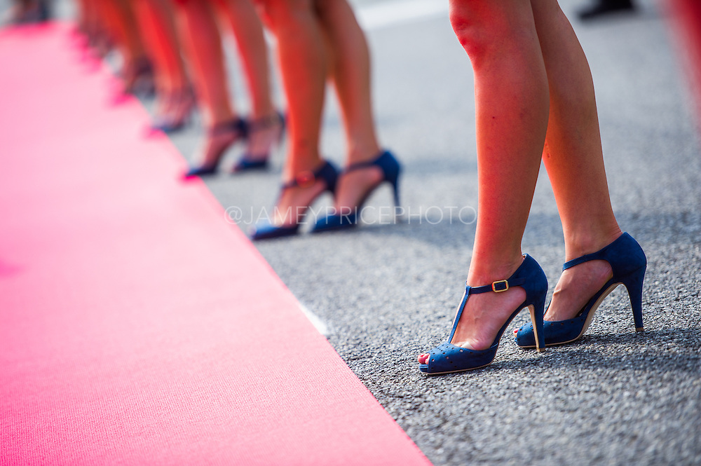 September 4-7, 2014 : Italian Formula One Grand Prix - Grid Girl