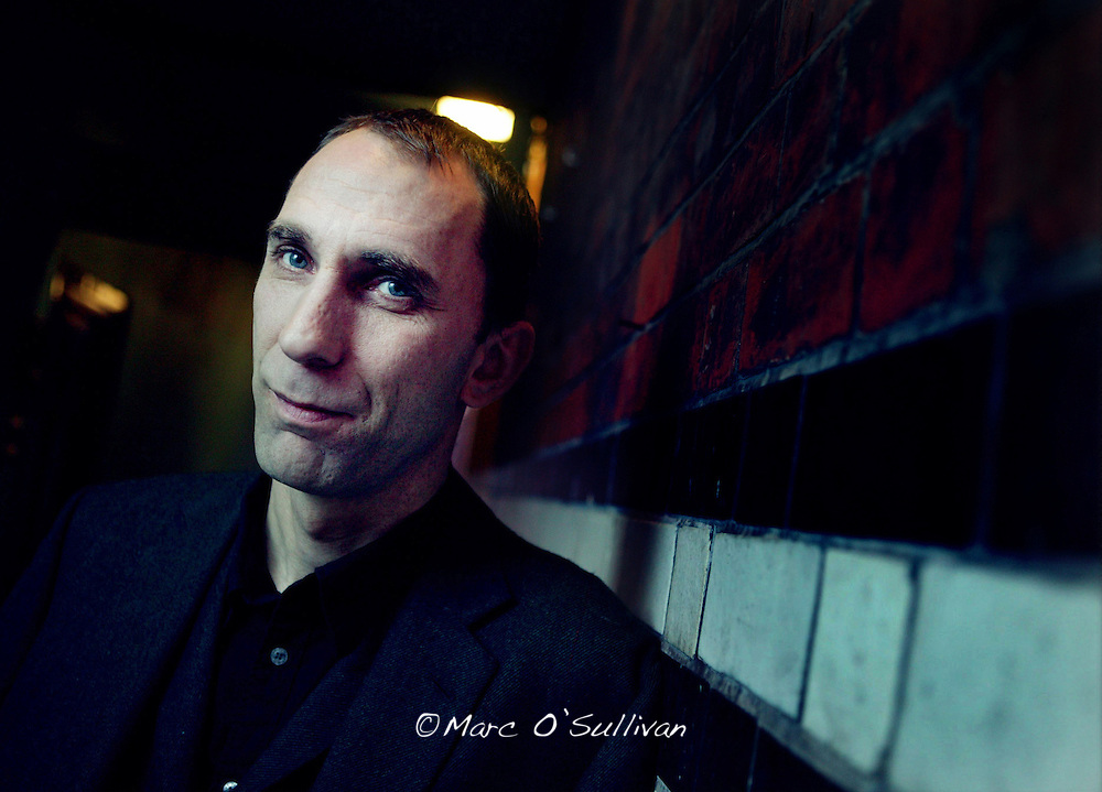 WILL SELF  Pic:Marc O'Sullivan