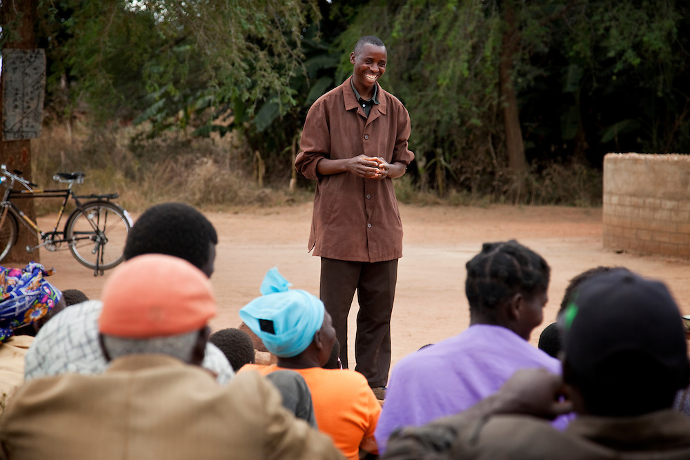 Councilor of the ward: Listone Hamalengova. Hambale village, Chipembele ward, Zambia.