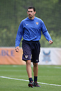 22 April 2008: Goalkeeper Coach Phil Wheddon. The United States Women's National Team held a training session on Field 3 at WakeMed Soccer Park in Cary, NC.