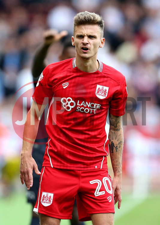 Jamie Paterson of Bristol City - Mandatory by-line: Robbie Stephenson/JMP - 17/09/2016 - FOOTBALL - Ashton Gate Stadium - Bristol, England - Bristol City v Derby County - Sky Bet Championship