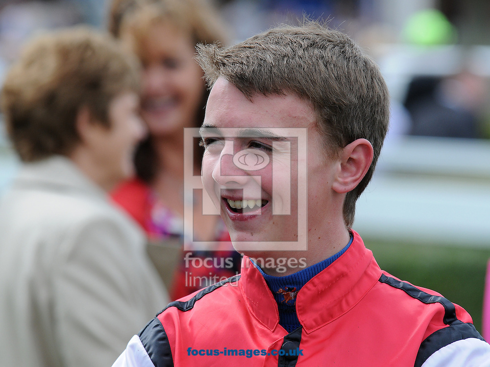 Jockey Joe Doyle at Chester Racecourse.<br /> Picture by Alan Wright/Focus Images Ltd 07733 196489<br /> 16/08/2014