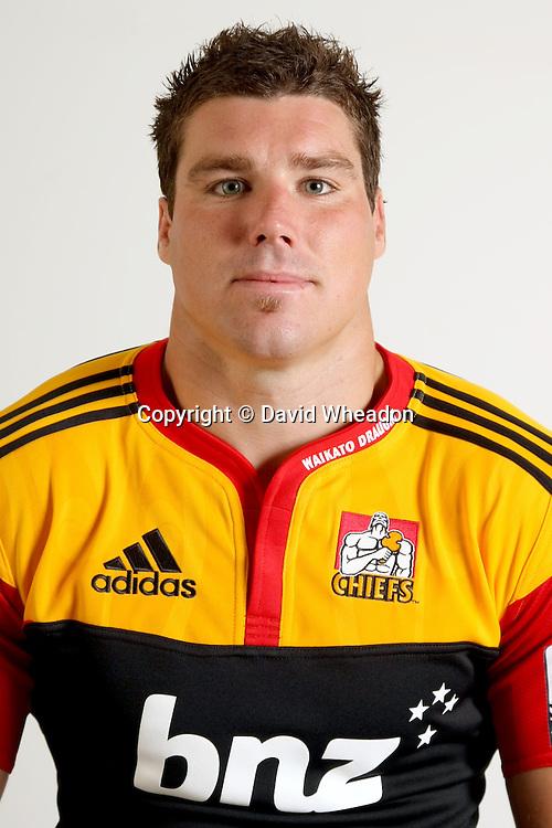 Culum Retallick, Headshot, Chiefs, 2011, Waikto Stadium, Hamilton New Zealand, 2010 Super Rugby, Rugby Union - Credit David Wheadon, Sportpix.co.nz