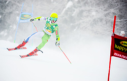 Aljaz Dvornik of Slovenia competes during 1st run of Men's GiantSlalom race of FIS Alpine Ski World Cup 57th Vitranc Cup 2018, on March 3, 2018 in Kranjska Gora, Slovenia. Photo by Ziga Zupan / Sportida