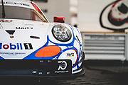 October 11-13, 2018: IMSA Weathertech Series, Petit Le Mans: 911 Porsche GT Team, Porsche 911 RSR, Patrick Pilet, Nick Tandy, Frederic Makowiecki (throwback livery) , Porsche throwback livery