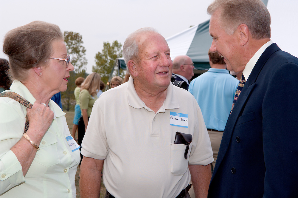 17100OUC: Child Development & Family Service Center: Chillicothe Groundbreaking Dedication 9/15/05..Alice Beatty, Charles Black, Larry Gates