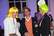 ALEXANDER BRENNAN; MARIANNA GANDA, Pop party. the birthday celebration of twin sisters Valeria Napoleone and Stefania Pramma. Studio Voltaire, London SW4. 17 May 2013.