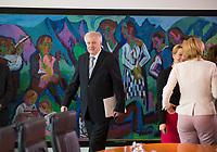 DEU, Deutschland, Germany, Berlin, 27.06.2018: Bundesinnenminister Horst Seehofer (CSU) vor Beginn der 15. Kabinettsitzung im Bundeskanzleramt.