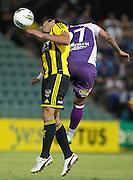 Wellington Phoenix's  Emmanuel Muscat against Perth Glory during the A-Leagues minor semi final held at nib Stadium, Perth, Australia on Saturday 7 April 2012. Photo Theron Kirkman / Photosport.co.nz