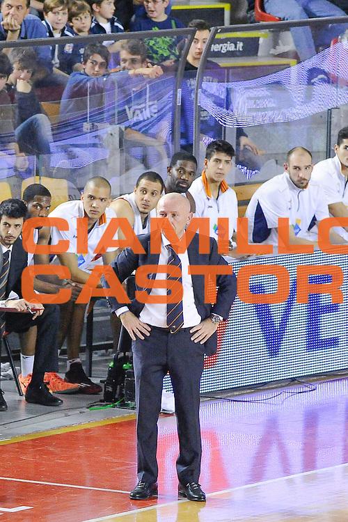 DESCRIZIONE : Roma Lega A 2014-15 <br /> Acea Roma EA7 Milano<br /> GIOCATORE : Dalmonte Luca<br /> CATEGORIA : Allenatore Coach Delusione<br /> SQUADRA : Acea Roma<br /> EVENTO : Lega A 2014-15 <br /> GARA : Acea Roma EA7 Milano<br /> DATA : 21/12/2014<br /> SPORT : Pallacanestro<br /> AUTORE : Agenzia Ciamillo-Castoria/giuliociamillo<br /> Galleria : Lega Basket A 2014-2015<br /> Fotonotizia : <br /> Predefinita :