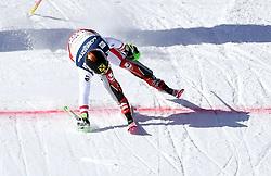 13.02.2017, St. Moritz, SUI, FIS Weltmeisterschaften Ski Alpin, St. Moritz 2017, alpine Kombination, Herren, Slalom, im Bild Marcel Hirscher (AUT, Herren Alpine Kombination Silbermedaille) // men's Alpine Combined Silver medalist Marcel Hirscher of Austria in action during his run of Slalom competition for the men's Alpine combination of the FIS Ski World Championships 2017. St. Moritz, Switzerland on 2017/02/13. EXPA Pictures © 2017, PhotoCredit: EXPA/ Erich Spiess