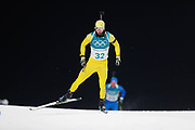 PYEONGCHANG-GUN, SOUTH KOREA - FEBRUARY 12: Peppe Femling of Sweden during the Mens Biathlon 12.5km Pursuit at Alpensia Biathlon Centre on February 12, 2018 in Pyeongchang-gun, South Korea. Photo by Nils Petter Nilsson/Ombrello               ***BETALBILD***