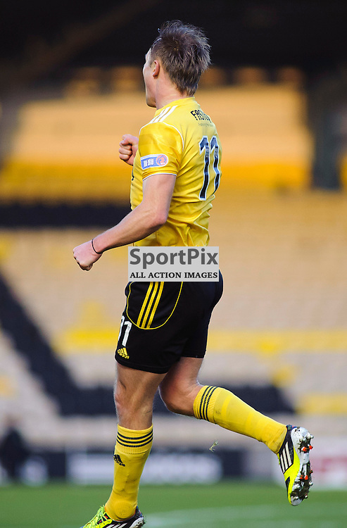 Livingston v Raith Rovers, Braidwood Motor Company Stadium, 12/01/13 (c) Colin Lunn | StockPix.eu..Iain Russell celebrate's his goal