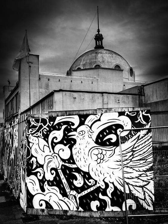 Graffiti in urban situation