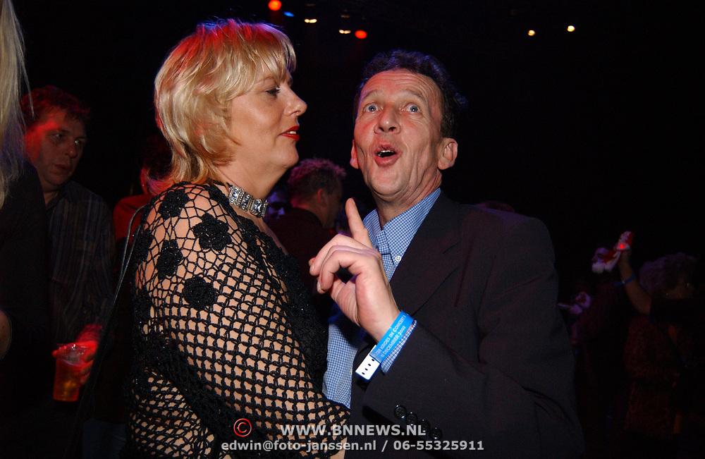 Concert Wolter Kroes, Tom Metz en vriendin