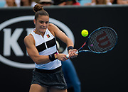 Maria Sakkari of Greece in action during her second-round match at the 2019 Australian Open Grand Slam tennis tournament on January 16, 2019 at Melbourne Park in Melbourne, Australia - Photo Rob Prange / Spain ProSportsImages / DPPI / ProSportsImages / DPPI