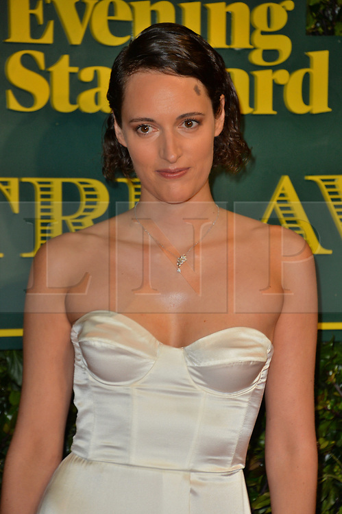 © Licensed to London News Pictures. 03/12/2017. London, UK. PHEOBE WALLER-BRIDGE attends the London Evening Standard Theatre Awards 2017 held at the Theatre Royal, Dury Lane. Photo credit: Ray Tang/LNP