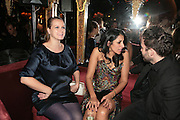 SAMANTHA MORTON AND SERENA REES, Agent Provocateur celebrate the launch of Agent Provocateur Maitresse Gold Edition. The Grill Room. Cafe Royal London. 3 October 2007. -DO NOT ARCHIVE-© Copyright Photograph by Dafydd Jones. 248 Clapham Rd. London SW9 0PZ. Tel 0207 820 0771. www.dafjones.com.