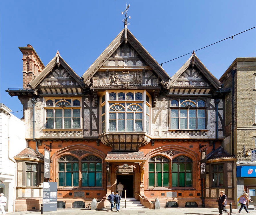 The New Beaney; Canterbury; Kent; Sidell Gibson Architects
