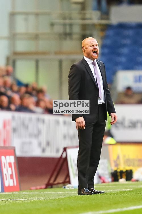 Burnley Manager Sean Dyche during Burnley v Bolton, Sky Bet Championship, 17 October 2015,  (c) Jackie Meredith/SportPix.org.uk