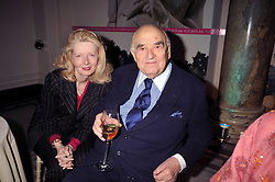 LORD & LADY WEIDENFELD at the Orion Publishing Group Author Party held at the V&A, London on 18th February 2009.