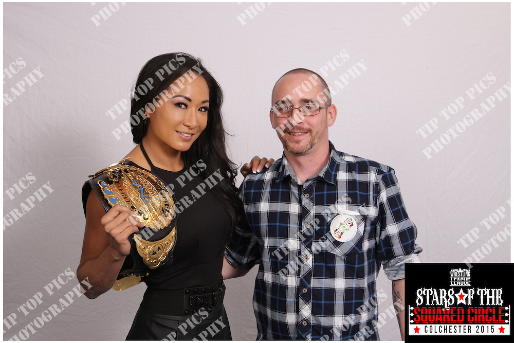 stars of the squared circle, sting, wrestling, wwe, tna, gail kim,bram,sunny, animal, road warriors,