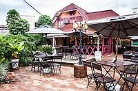 Fachada do Biergarten. Joinville, Santa Catarina, Brasil. / <br /> Facade of Biergarten. Joinville, Santa Catarina, Brazil.