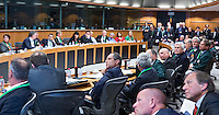 BRUSSEL- GOLF- Overzicht, overview, during EGA Golf Course Committee Exhibition of Golf at European Parliament.  FOTO KOEN SUYK