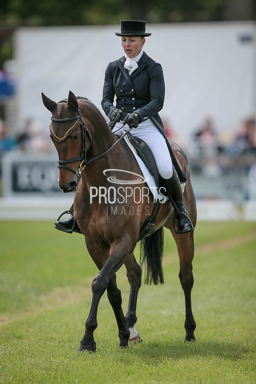 HUNTER VALLEY II ridden by Sammi Birch (AUS) during the Equitrek CCI*** dressage event on day two of Bramham International Horse Trials 2017 at  at Bramham Park, Bramham, United Kingdom on 11 June 2017. Photo by Mark P Doherty.