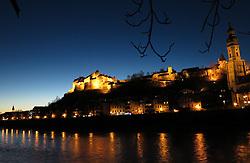 GERMANY BAVARIA BURGHAUSEN 6FEB14 - View of Burghausen castle on the banks of the river Alz.<br /> <br /> jre/Photo by Jiri Rezac<br /> <br /> © Jiri Rezac 2014