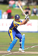 CAPE TOWN, SOUTH AFRICA - 22 February 2008, Henry Davids batting during the MTN Domestic Championship match between the Nashua Cape Cobras and the Nashua Dolphins held at Sahara Park, Newlands Stadium in Cape Town, South Africa...Photo by Ron Gaunt/SPORTZPICS