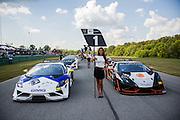 October 3-5, 2013. Lamborghini Super Trofeo - Virginia International Raceway. Grid before race 1.