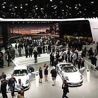 Porsche stand at the IAA 2013, Frankfurt, Germany