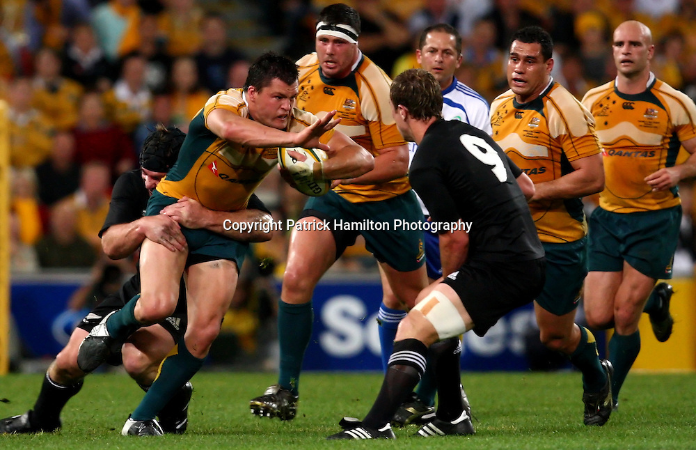 Adam Ashley Cooper.All Blacks v Australia Tri Nations Rugby Union Test Match. Suncorp Stadium ,Brisbane. Australia,Saturday 13 September 2008 .