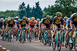 Peloton with Tom Leezer of Team LottoNL-Jumbo during 2017 National Road Race Championships Netherlands for Men Elite, Montferland, The Netherlands, 25 June 2017. Photo by Pim Nijland / PelotonPhotos.com | All photos usage must carry mandatory copyright credit (Peloton Photos | Pim Nijland)