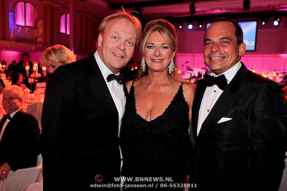 NLD/Noordwijk/20110924 - Kika Grand Gala 2011, Frits Huffnagel, ........... en Robert Halewijn