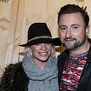 NLD/Amsterdam/20131113 - VIP avond bij Isabel Marant pour H&M, Dennis Weening en partner Stella