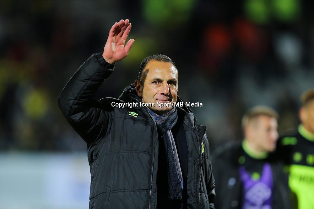 Michel DER ZAKARIAN - 20.12.2014 - Lorient / Nantes - 17eme journee de Ligue 1 -<br />Photo : Vincent Michel / Icon Sport