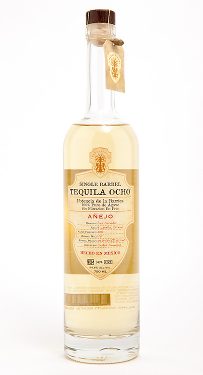 Tequila Ocho Singe Barrel Añejo -- Image originally appeared in the Tequila Matchmaker: http://tequilamatchmaker.com