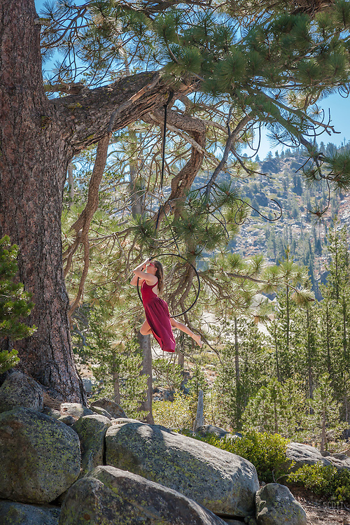 Photograph from the 2015 Trails and Vistas art hike at Donner Ski Ranch and Donner Summit in Truckee, California.