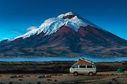 Cotopaxi Volcano National Park, Ecuador.