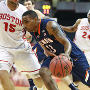 NCAA Men's Basketball: Illinois vs. Boston University (NIT 1st Round) 3/19/2014