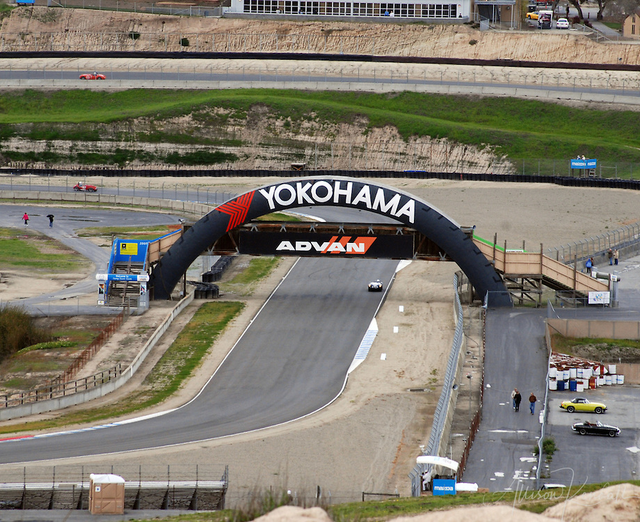 HMSA races at Laguna Seca