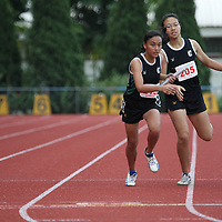 B Division Girls 4x400m Relay