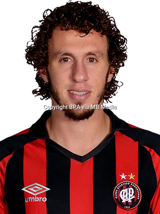 Brazilian Football League Serie A / <br /> ( Clube Atletico Paranaense ) - <br /> Rafael Galhardo de Souza &quot; Rafael Galhardo &quot;
