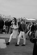 PENELOPE THOMPSON; ROB SHAKLEFORD, The Cheltenham Festival Ladies Day. Cheltenham Spa. 11 March 2015