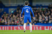 Coming on as a substitute for Chelsea midfielder Ross Barkley (8) in what is rumoured to be his last game for Chelsea, Chelsea midfielder Cesc Fabregas (4), during the Premier League match between Chelsea and Southampton at Stamford Bridge, London, England on 2 January 2019.