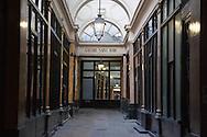 France, Paris. Historical Covered passages of Paris, Saint Marc passage