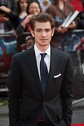 © licensed to London News Pictures. London, UK 18/06/2012. Andrew Garfield attending to the premiere of The Amazing Spider-Man today in Leicester Square. Photo credit: Tolga Akmen/LNP